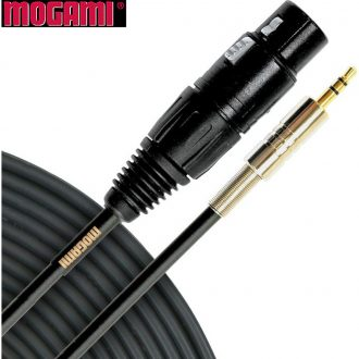 Mogami Gold 1.5′ XLRF-TRS Mini Patch Cable