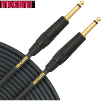 Mogami Gold Instrument 25′ High-Definition Instrument Cable
