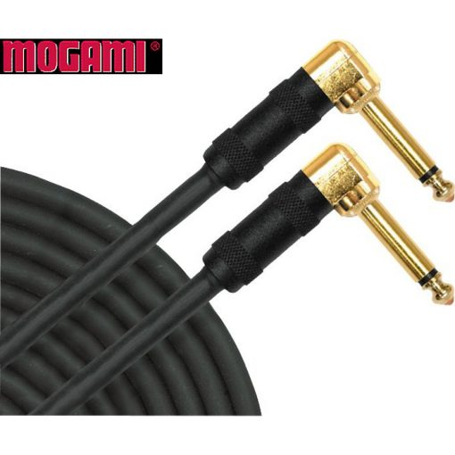 "Mogami Gold Instrument 10"" HD Right Angle to Right Angle"
