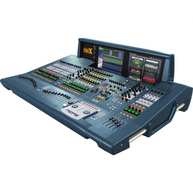 Midas PRO X-CC-IP Live Digital Control Surface. Install Pack