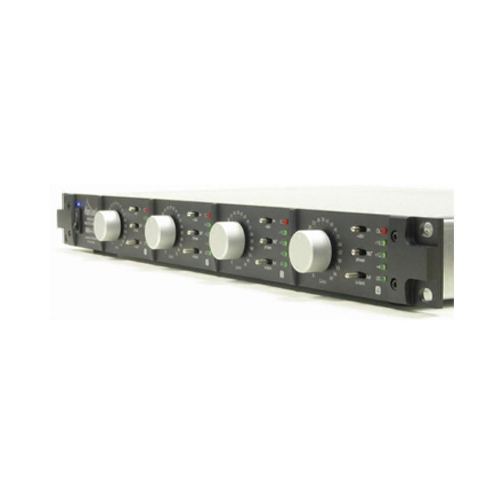 Prism Sound Maselec Mma 4xr Four Channel Audiophile Mic Preamp Microphone Amplifier Circuit Low Voltage Preamplifier