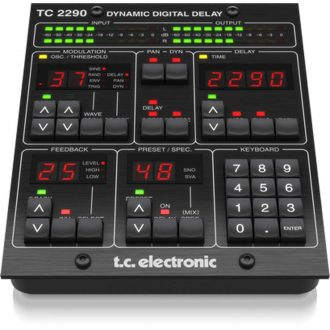 TC Electronic TC2290-DT Dynamic Delay Hardware Controller Plugin