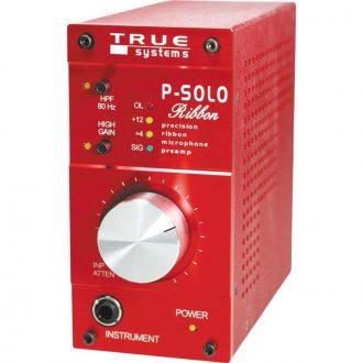 TRUE Systems P-SOLO Ribbon Mic Pre