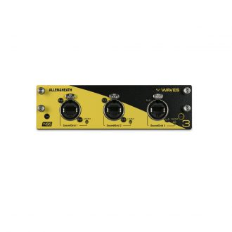 Allen & Heath dLive WAVES V3 Audio Networking Card