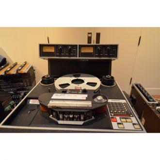 Ampex/MDI Precision Motorworks 102 Master Monster 1″ 2 Track Analog Recorder (Vintage)