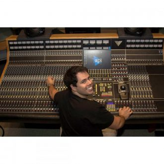 API Audio Vision All Discrete Surround Mixing and Recording Console