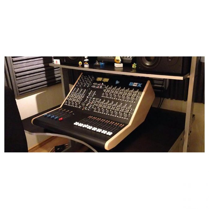 API The Box Project Recording and Mixing Console