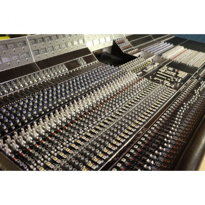API Vision Large Format Discrete Analog Console (Pre Owned)