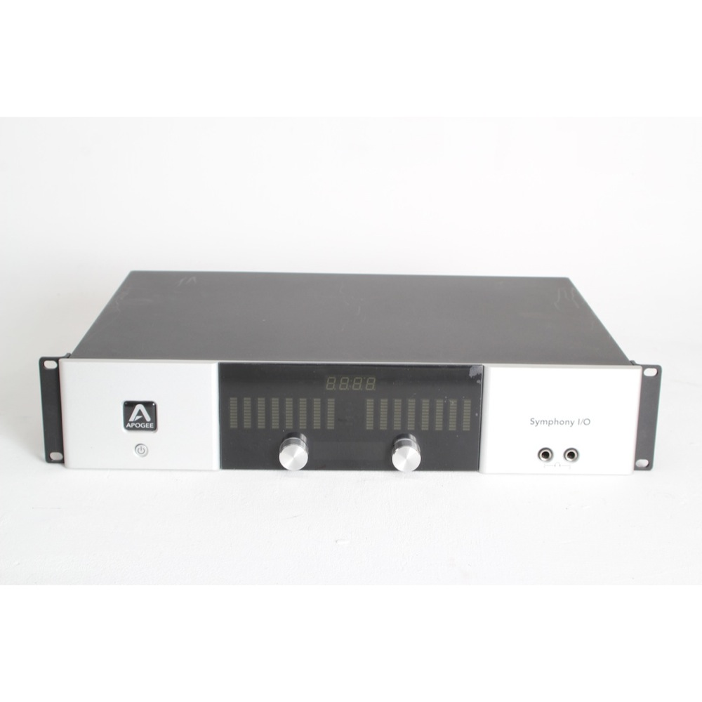 Apogee Symphony Mki I O Chassis With 8 Analog Used Sonic Circus Audio Enhancement For Amplifier