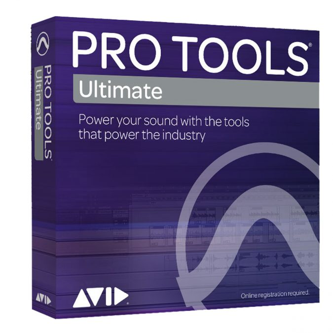Avid Pro Tools Ultimate Software with ILOK