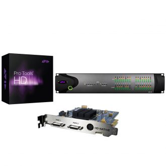 Avid AVID-HD-DGA HD Native Pcie System + HD I/O 16×16 Digital (Discontinued)