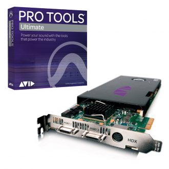 Avid Pro Tools HD/TDM System to HDX Core Card w/ Pro Tools Ultimate Software