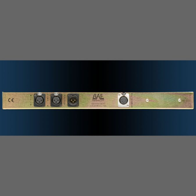 BAE 1023 Mic Pre/EQ w/o Power Supply (Black)
