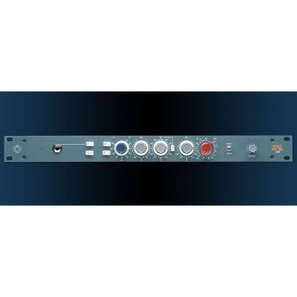 BAE 1028 Mic Pre/EQ w/PSU (Blue)