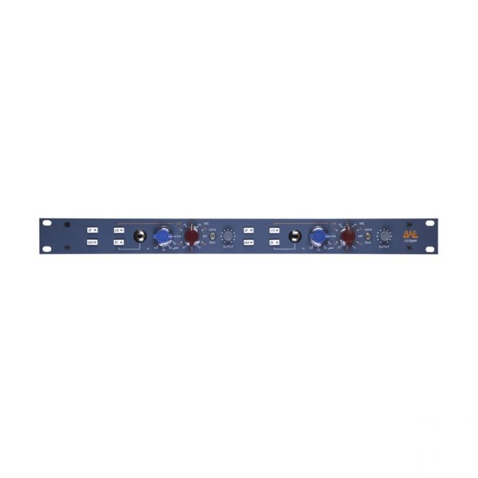 BAE 1073MP Dual Channel Mic Pre/DI (Blue)