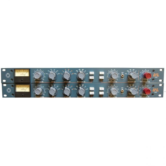 BAE 10DC Stereo Pair Compressor/Limiter w/PSU (Discontinued)