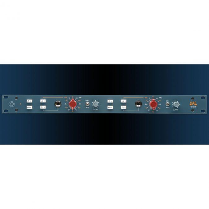 BAE 1073MP Dual Channel Mic Pre/DI(Blue)