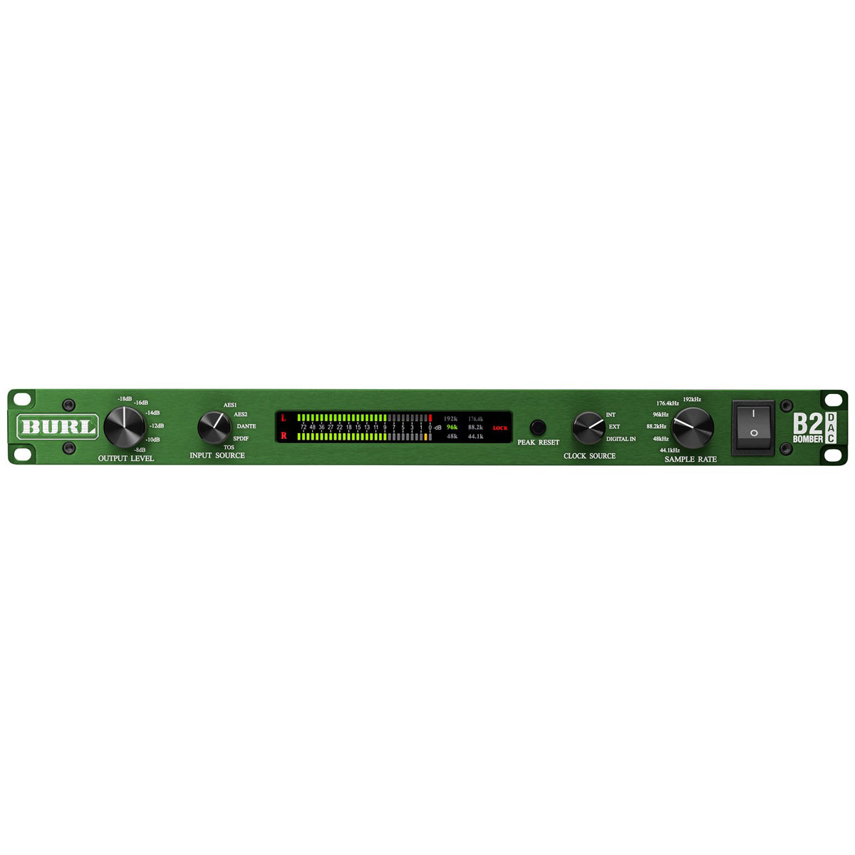 Burl Audio B2 Bomber Dac Two Channel Digital Analog Converter To Converters Microcontrollers