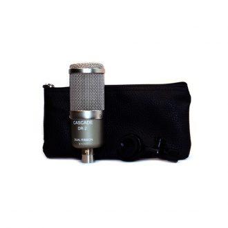 Cascade DR-2 Dual Ribbon Passive Microphone-Single