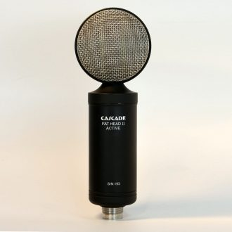 Cascade Fat Head II  Active/Passive Selectable Ribbon Microphone