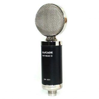 Cascade Single Fat Head II Short Ribbon Microphone