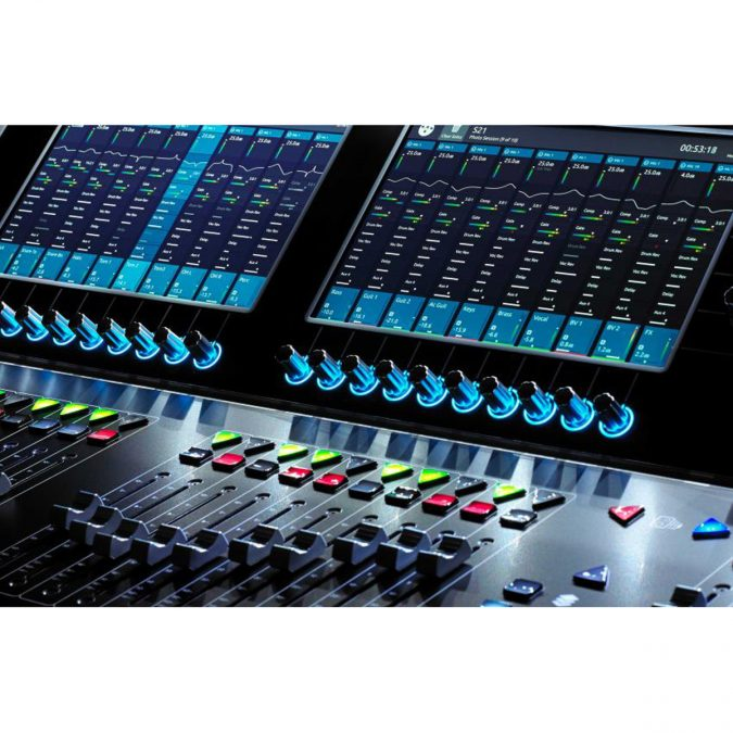 DiGiCo S21 Control Surface Compact Live Mixing Console