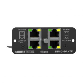 Klark Teknik DM80-DANTE Network Module