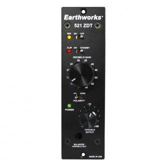 Earthworks 521 – 500 Series Zero Distortion Technology Preamp
