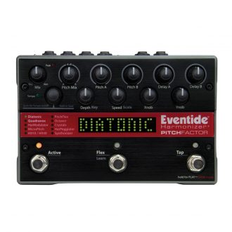 Eventide PitchFactor Multi-Voice Harmonizer Pedal