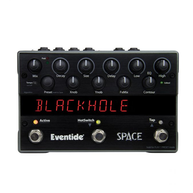 Eventide Space Spatial Effects Reverb Pedal