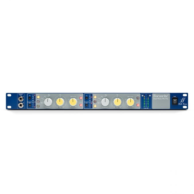 Focusrite AMS-ISA-2 2-Channel Mic Preamp
