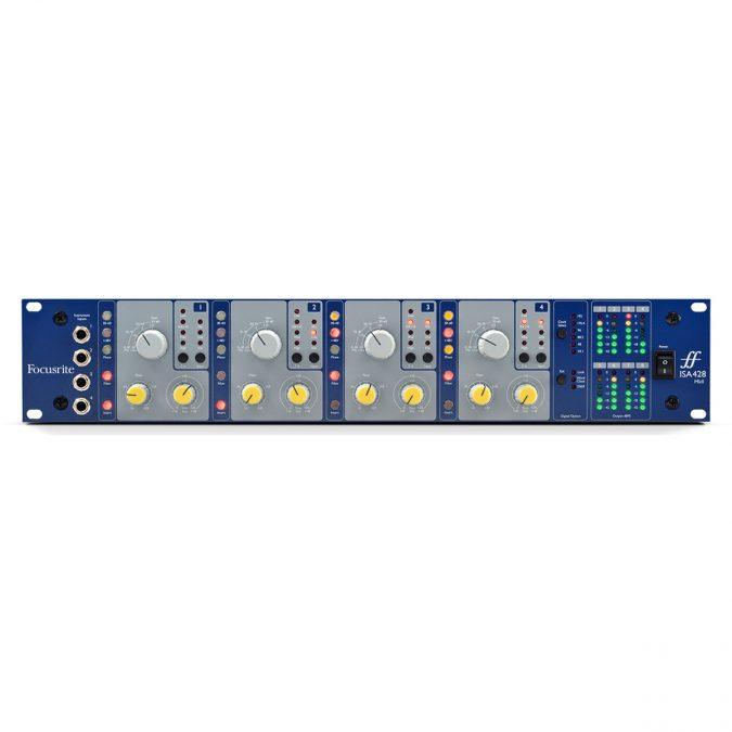 Focusrite AMS-ISA 428-MK2 4-Channel Mic Preamp