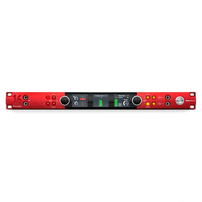 Focusrite AMS Red 16Line – 64 IN x 64 OUT Interface