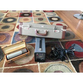 Telefunken ELA M 251 E –  MINT – flight case