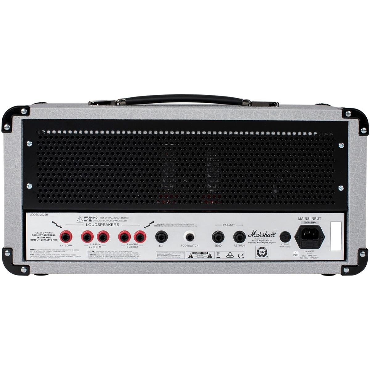 Marshall 2525h Mini Jubilee Amplifier Head Sonic Circus 20w Power Tube With El34