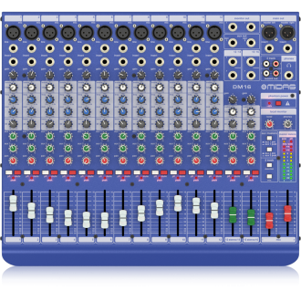 Midas DM16 Live and Studio Mixer