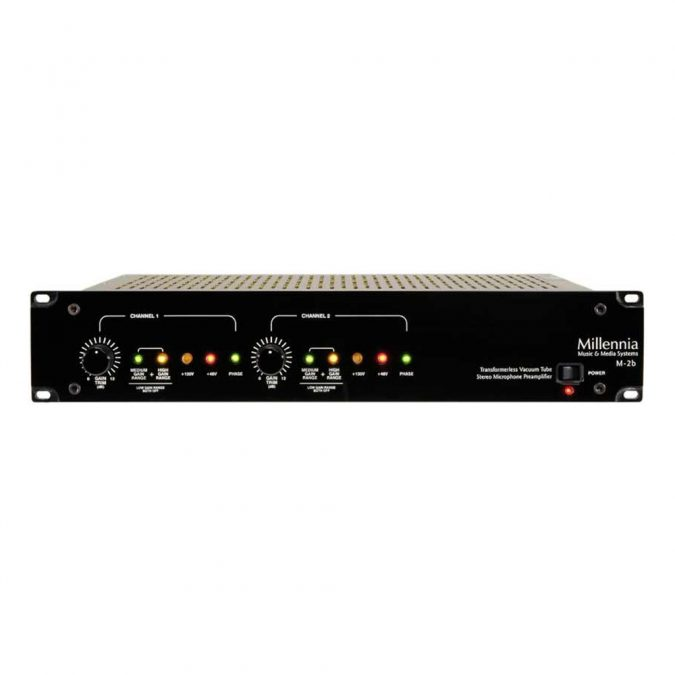 Millennia M-2b Two Channel Microphone Preamp
