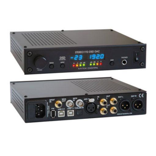Mytek Stereo 192-DSD DAC - Preamp - Black