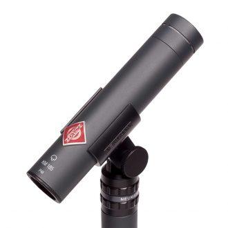 Neumann KM 185 mt Condenser Microphone-Matte Black
