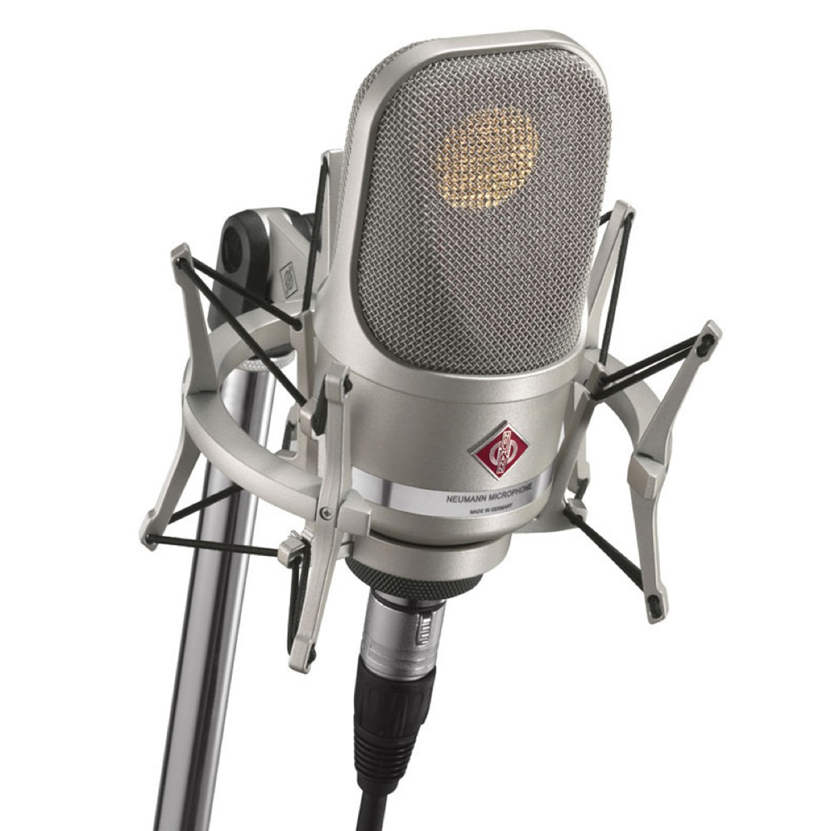 Neumann Tlm 107 Studio Condenser Microphone Sonic Circus Power Pc Microphones From P48 Or Phantom 48 Volts