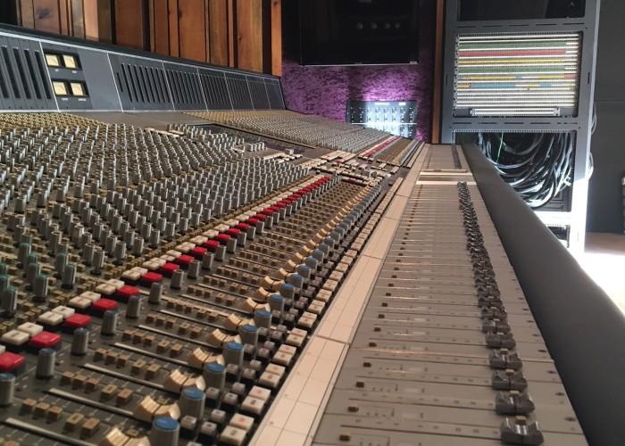 Omega Recording Studios SSL 9000 Install