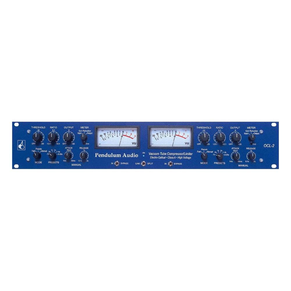 Pendulum Audio Ocl 2 Electro Optical Compressor Limiter Sonic Circus Vu Meter Mono Circuit