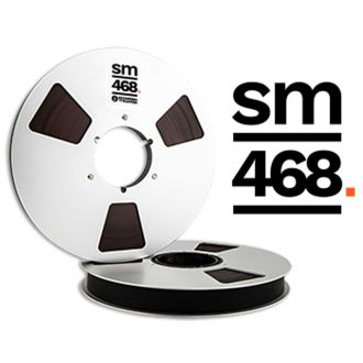 Recording The Masters SM468 Professional Analog Audio, Tape Widths: 1/4″, 1/2″, 1″, 2″