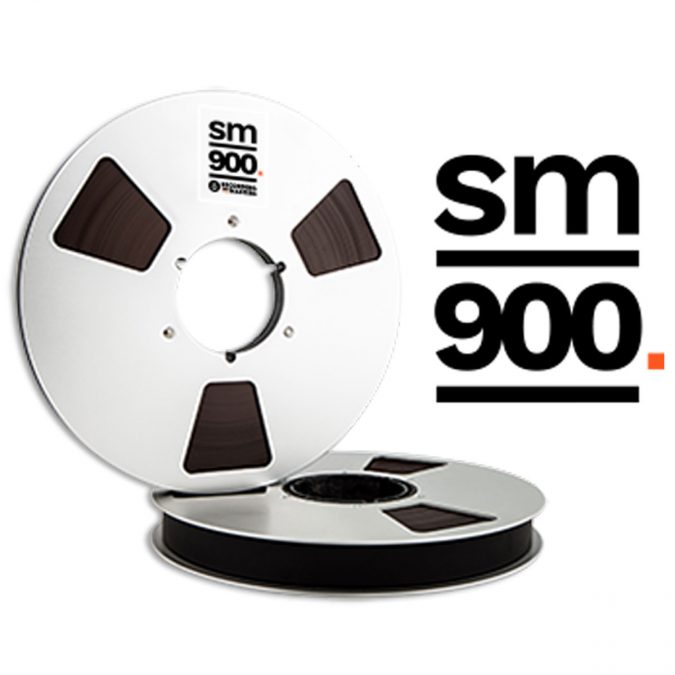 Recording The Masters SM900 Professional Analog Audio, Tape Widths: 1/4″, 1/2″, 1″, 2″