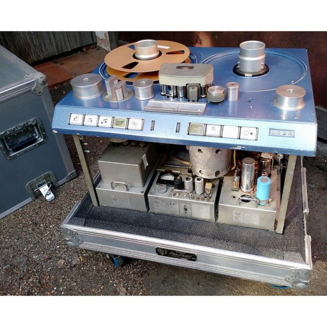 STUDER C37 One Inch Two Track Tube Analog Recorder