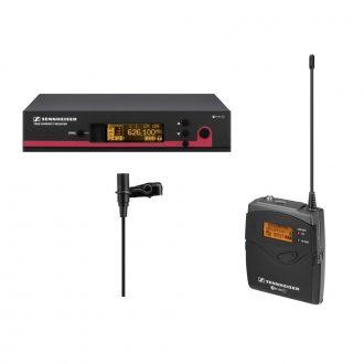 Sennheiser ew 112 G3 Lavalier Clip-On Microphones Wireless Set