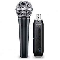 Shure SM58-X2U USB Digital Microphone Bundle