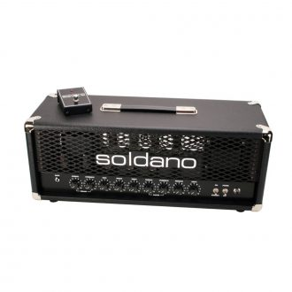Soldano PLUS-100 100 Watt 2-Channel Hot Rod Guitar Combo Amplifier