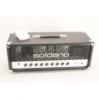 Soldano PLUS-50 50 Watt 2-Channel Hot Rod Guitar Combo Amplifier