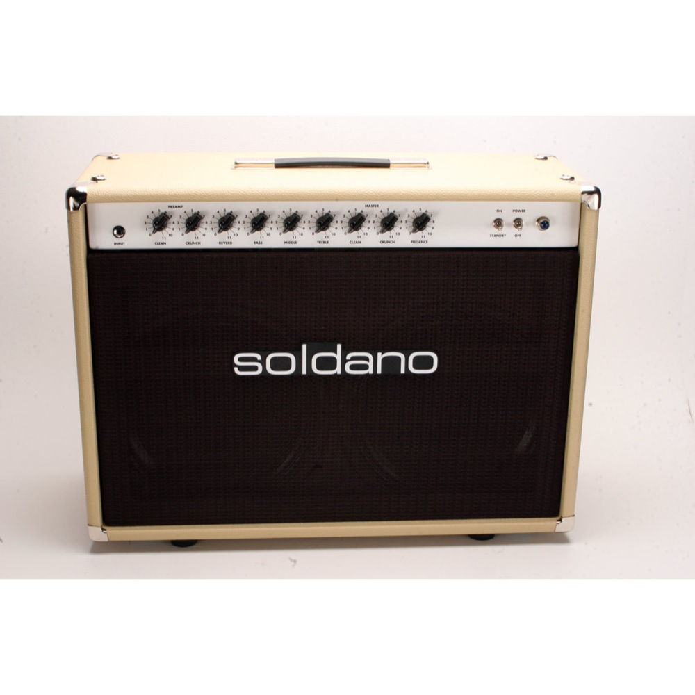 Soldano Reverb O Sonic Combo 50 Watt 2 Channel Guitar Watts Audio Amplifier
